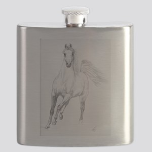 Freedom Trotting Arabian Flask