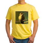 Annas Hummingbird Yellow T-Shirt