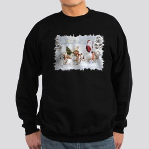Great Pyrenees Womens Sweatshirt - Pyrs & Sant