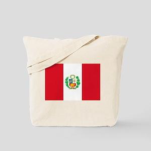 Peru - National Flag - 1825-1950 Tote Bag