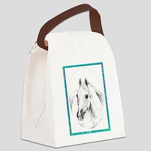 Classic Arabian Canvas Lunch Bag