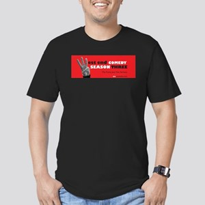 Season 3 Hand promo Men's Fitted T-Shirt (dark