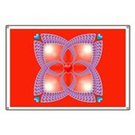 Red and Blue Celtic Valentines Heart Banner
