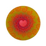 Red and Orange Valentines Heart Fractal 3.5