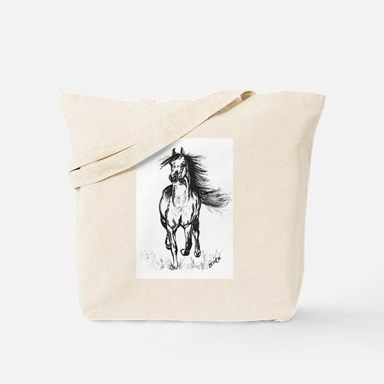 Runner Arabian Horse Tote Bag