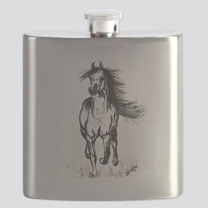 Runner Arabian Horse Flask