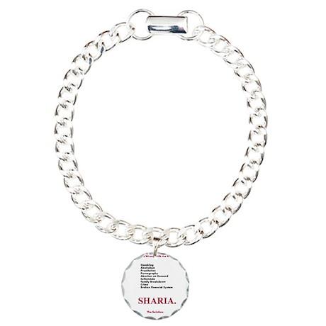 Sharia. The Solution Charm Bracelet, One Charm