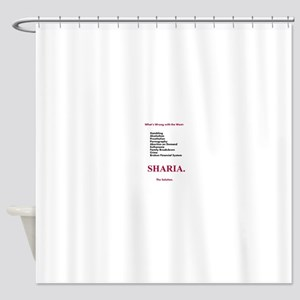 Sharia. The Solution Shower Curtain