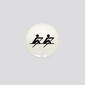 Rowing paddle team Mini Button