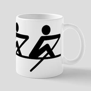 Rowing paddle team Mug