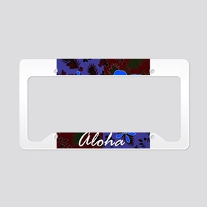Aloha License Plate Holder