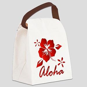 Aloha Canvas Lunch Bag