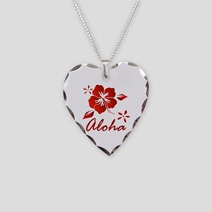 Aloha Necklace Heart Charm