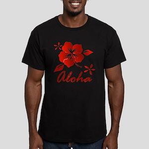 Aloha Men's Fitted T-Shirt (dark)