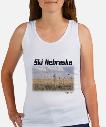 Ski Nebraska Women's Tank Top
