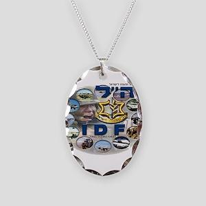 IDF Special Logo Necklace Oval Charm