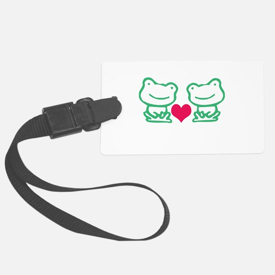 2 of a kind Luggage Tag