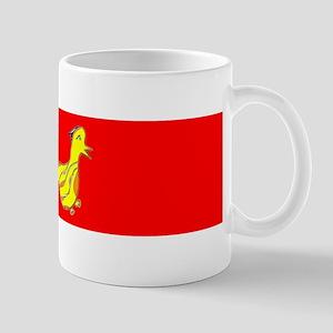 Red Cute Duck 47 Spafford Designer Mug