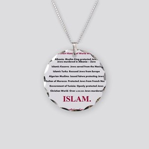 A Short History of World War II Necklace Circle Ch