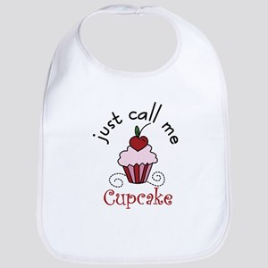 Just Call Me Cupcake Bib