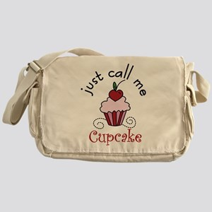 Just Call Me Cupcake Messenger Bag