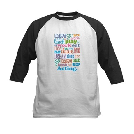 Acting Gift Kids Baseball Jersey