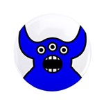 Kawaii Blue Alien Monster 3.5