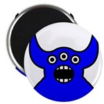 Kawaii Blue Alien Monster Magnet