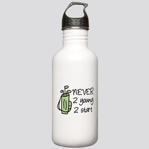 Never 2 Young Stainless Water Bottle 1.0L