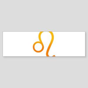 Leo.png Sticker (Bumper)