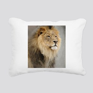 Lion Lovers Rectangular Canvas Pillow