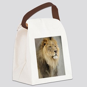 Lion Lovers Canvas Lunch Bag