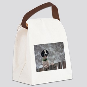 Great Dane 4 Canvas Lunch Bag
