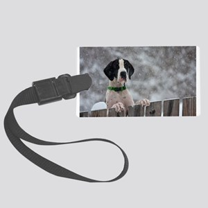 Great Dane 4 Large Luggage Tag