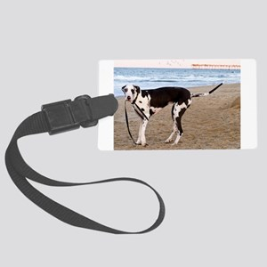 Great Dane 6 Large Luggage Tag
