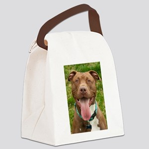 Pit Bull 13 Canvas Lunch Bag