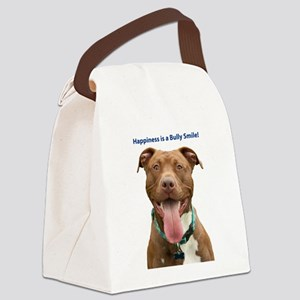 Pit Bull 14 Canvas Lunch Bag
