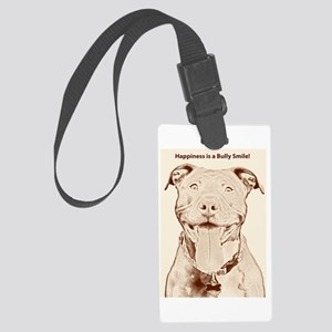 Pit Bull 15 Large Luggage Tag