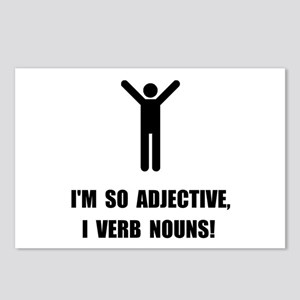 Adjective Verb Nouns Postcards (Package of 8)