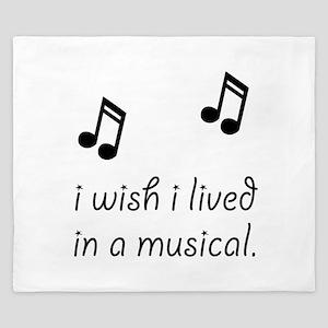Live In Musical King Duvet