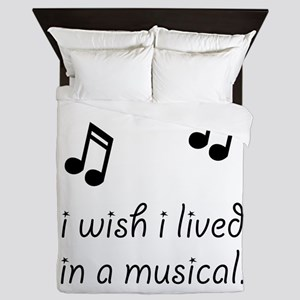 Live In Musical Queen Duvet