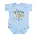 Will Play Trombone Infant Bodysuit