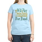 Will Play Trombone Women's Light T-Shirt