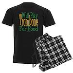 Will Play Trombone Men's Dark Pajamas