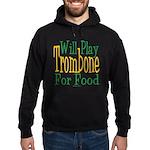 Will Play Trombone Hoodie (dark)