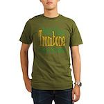 Will Play Trombone Organic Men's T-Shirt (dark)