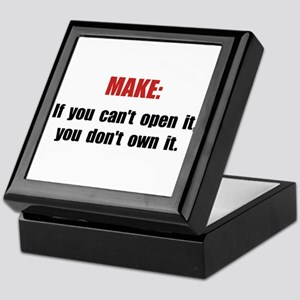Make Motto Keepsake Box