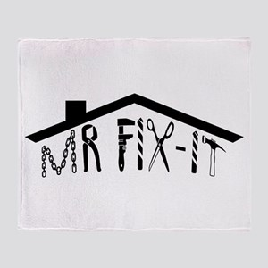 MR FIX-IT Throw Blanket