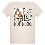 Will Play Guitar Organic Kids T-Shirt
