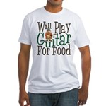 Will Play Guitar Fitted T-Shirt